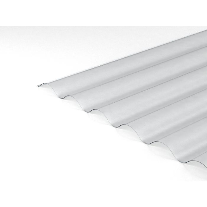 Clear 6 Inch Palruf Pvc Corrugated Sheets