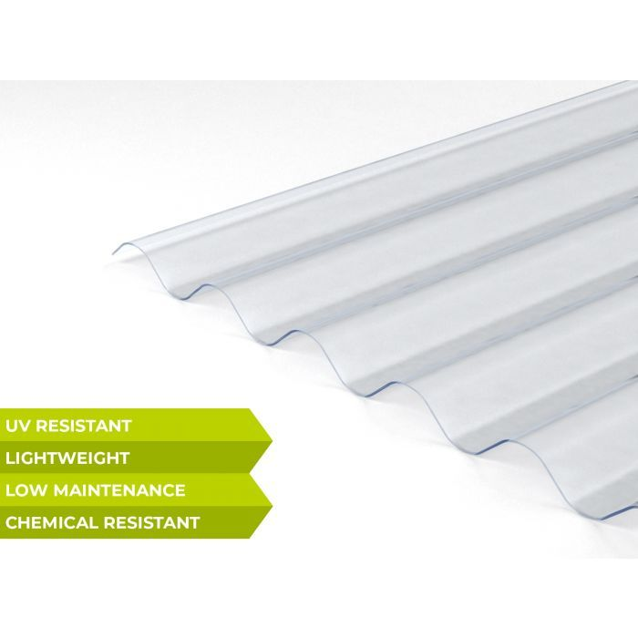 Suntuf Low Profile Corrugated Polycarbonate