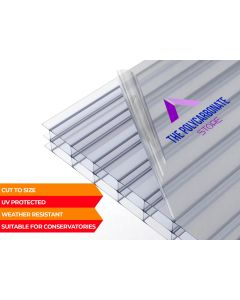 16mm Clear Sunlite™ Polycarbonate Multiwall Cut To Size