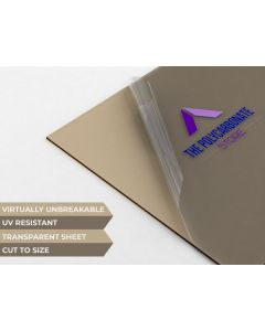 6mm Bronze Palsun™ Polycarbonate  Sheet