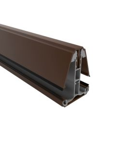 16MM - 35MM HEAVY DUTY SELF SUPPORTING BROWN GLAZING BAR