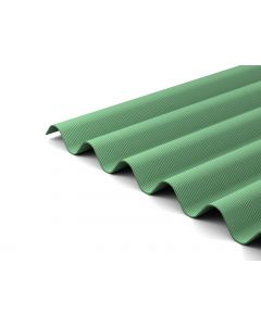Green Corrugated Bitumen Sheets