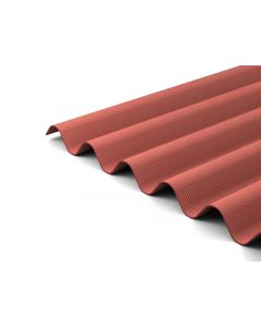 Red Corrugated Bitumen Sheets