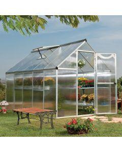 4mm Clear Twinwall Greenhouse 610 x 610 Standard Sheet