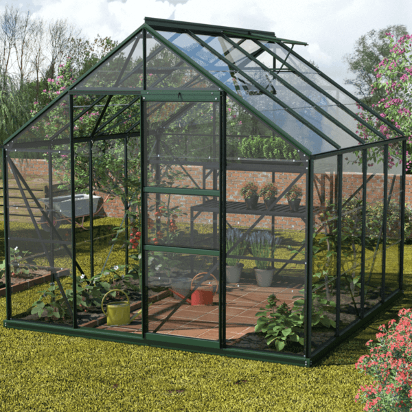 GREENHOUSE GLAZING PLASTIC