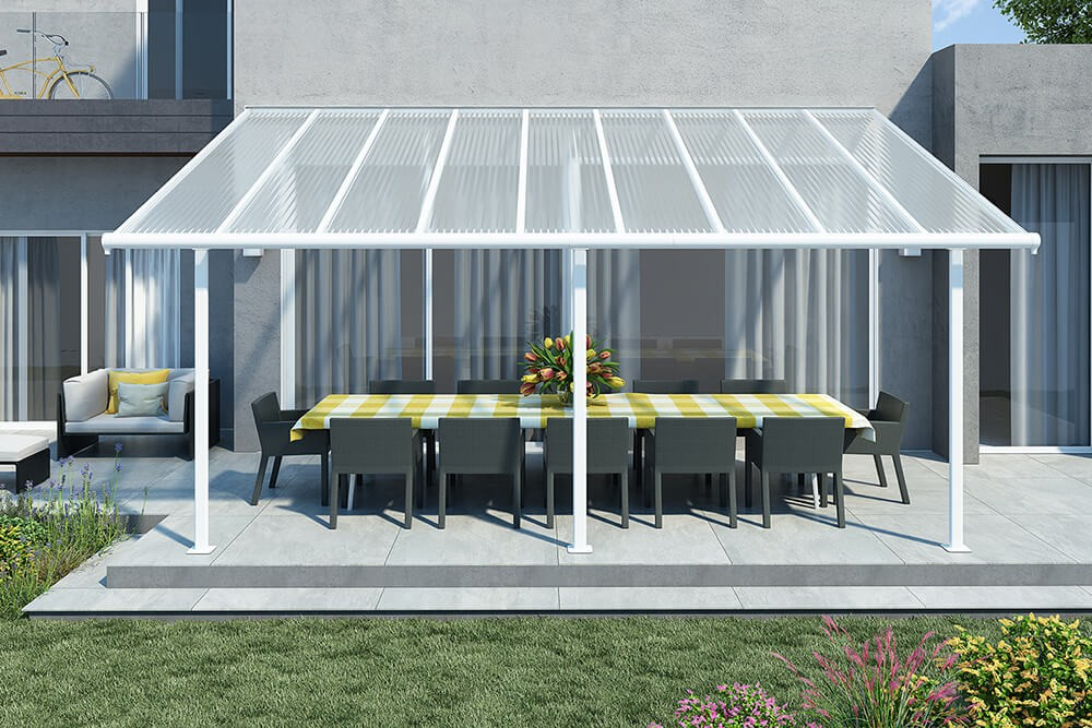 STANDARD SIZE CARPORTS AND CANOPIES